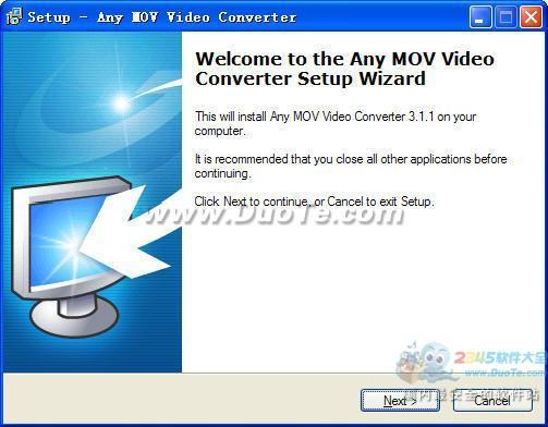 Any MOV Video Converter下载
