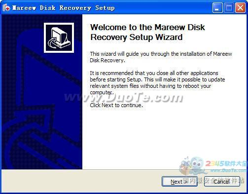 Mareew Disk Recovery下载