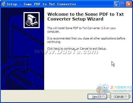 Some PDF to Txt Converter下载