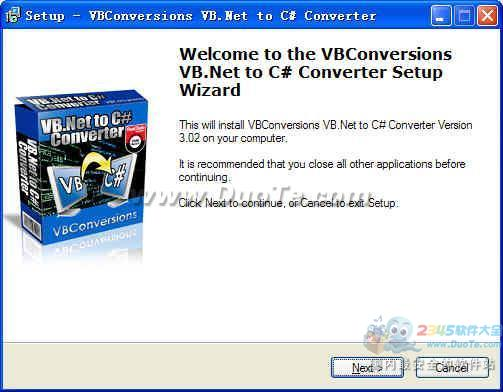 VB.Net to C# Converter下载