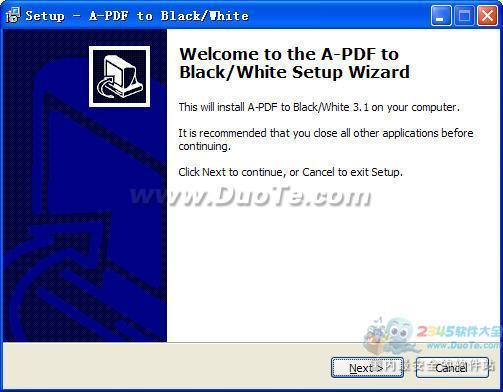 A-PDF To Black-White下载