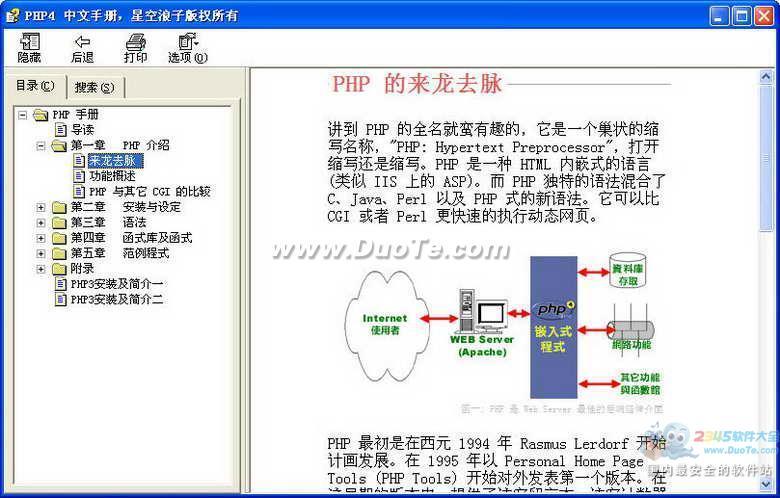 PHP中文手册下载
