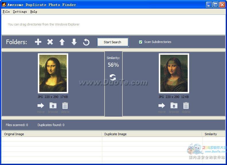 Awesome Duplicate Photo Finder(重复图片查找软件)下载