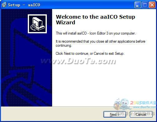 aaICO Icon Editor (图标制作工具)下载