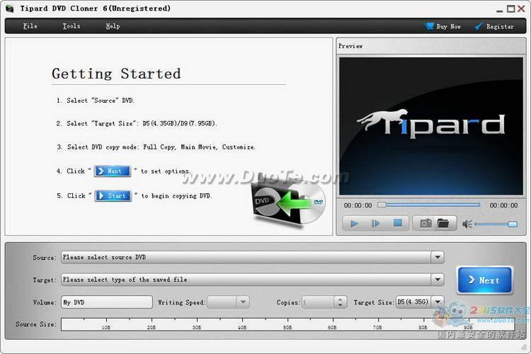 Tipard DVD Cloner6 (影碟克隆软件)下载