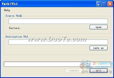 Vmdk2vhd(Vmdk转vhd工具)下载