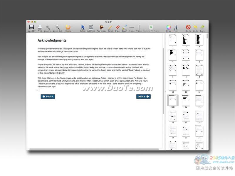 PDF Editor Mac下载