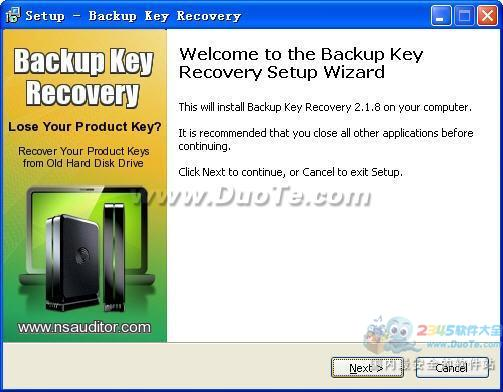 Backup Key Recovery(备份密码恢复)下载