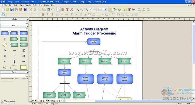 PaceStar UML Diagrammer下载