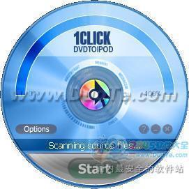 1CLICK DVDtoiPod(视频转换)下载