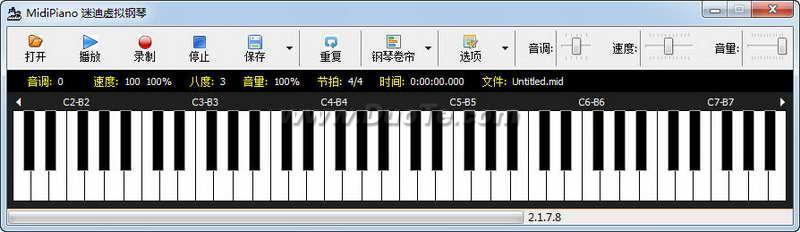 迷迪虚拟钢琴下载