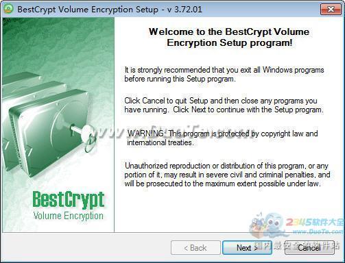 BestCrypt Volume Encryption (磁盘加密软件)下载