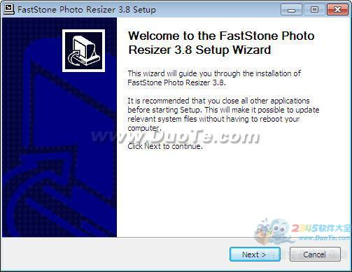 FastStone Photo Resizer下载