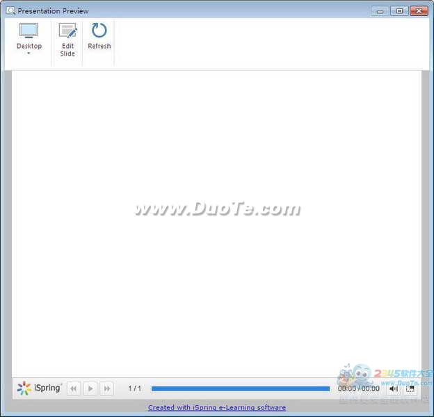 iSpring Free(免费的PPT转Flash工具)下载