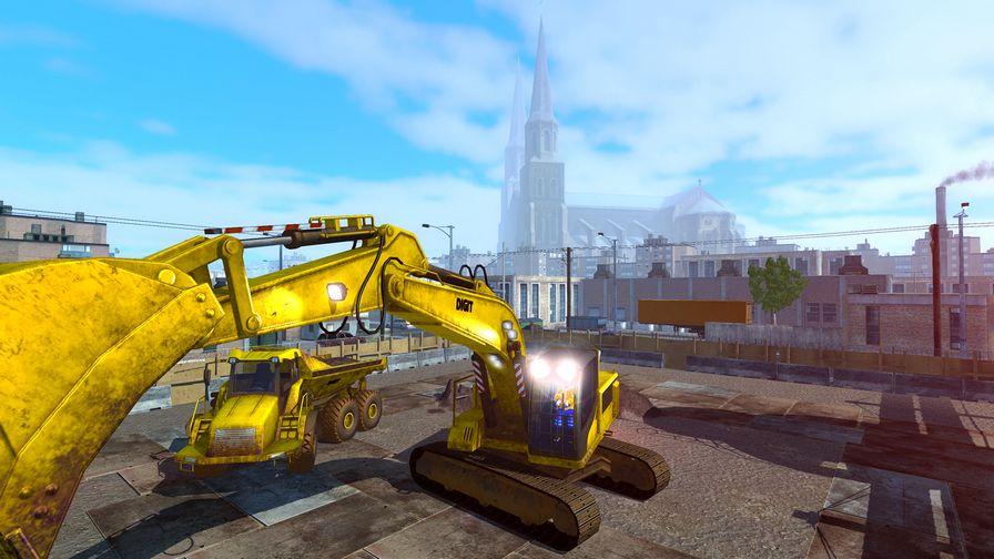 挖掘机模拟下载