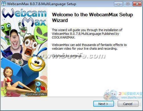 WebcamMax(虚拟视频软件)下载