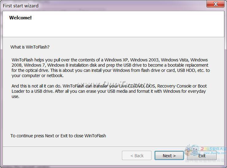 WinToFlash (u盘装系统软件)下载