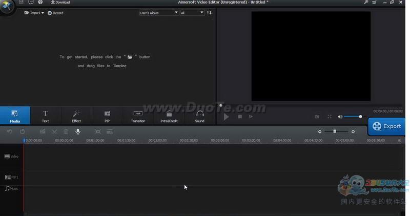 Aimersoft Video Editor(视频剪辑编辑与MV制作)下载