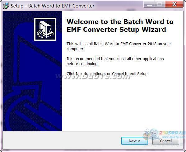 Batch DOC to EMF Converter(DOC到EMF批量转换)下载