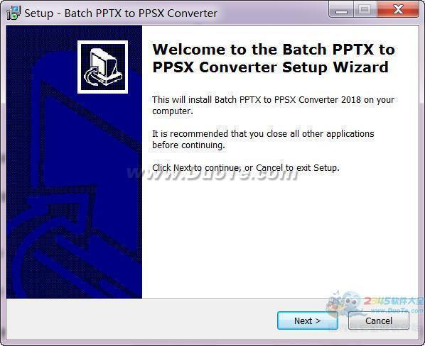 Batch PPTX and PPSX Converter(PPT文档批量转换)下载