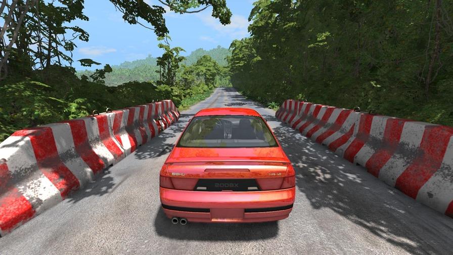 拟真车祸模拟