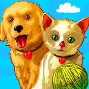 婴儿动物拼图 (Baby Animals Kid Puzzle and Coloring Book) - Mr. Pepper's 为孩子和幼儿拼图 (Mr. Pepper's animal puzzles for kids and toddlers)