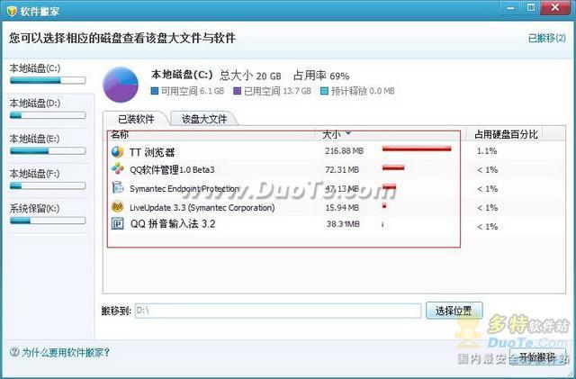 """QQ医生变身QQ电脑管家 软件也能""""搬家""""了!"""