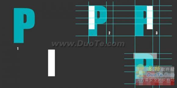Photoshop初级教程:制作非常逼真的折叠字效果(1)