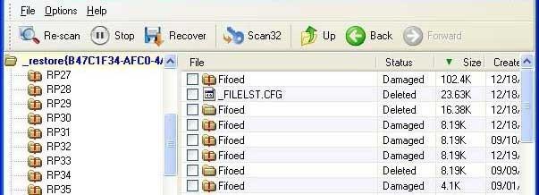 文件恢复器标准恢复功能的介绍及使用