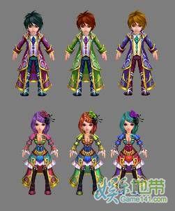 《梦幻飞仙》全新染色系统让你与众不同