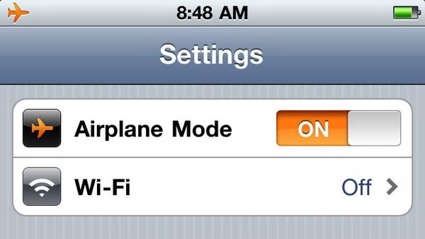 飞机上手机能不能开飞行模式