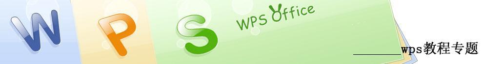 WPS教程专题