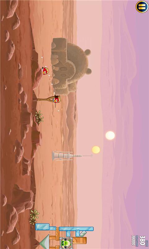 愤怒的小鸟 星球大战软件截图3