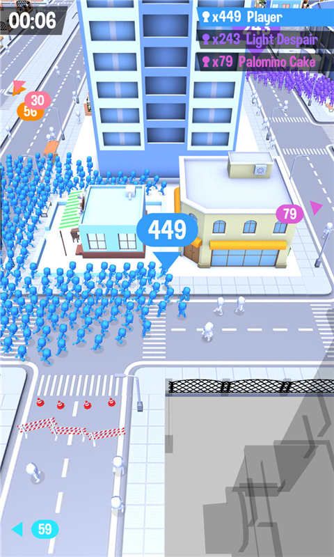 火柴人大战-拥挤城市软件截图0