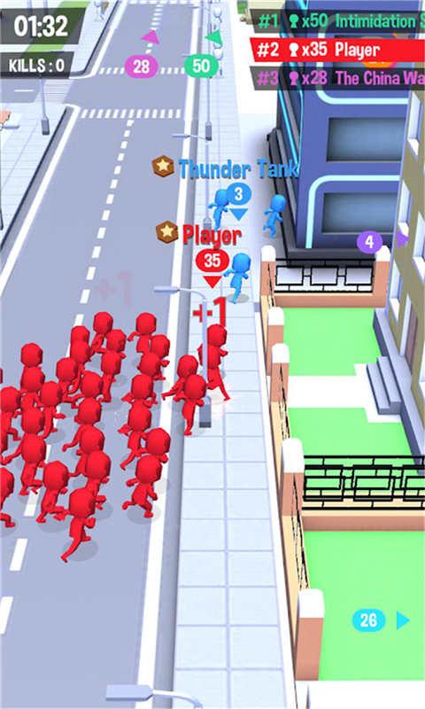 火柴人大战-拥挤城市软件截图1