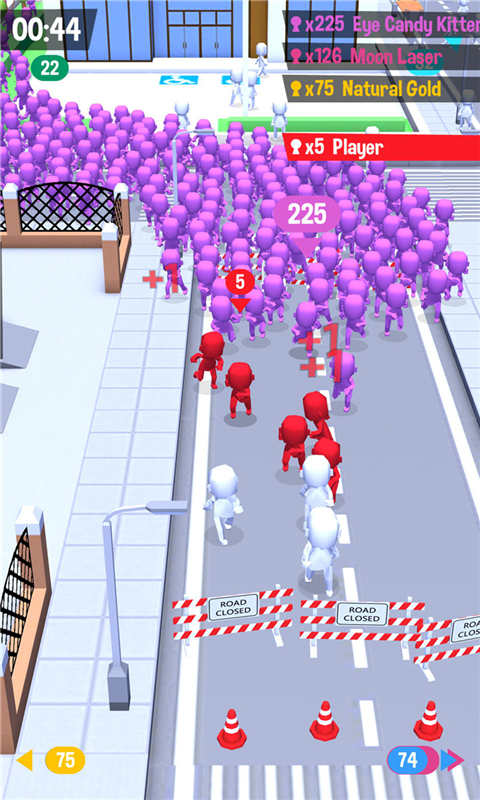 火柴人大战-拥挤城市软件截图2