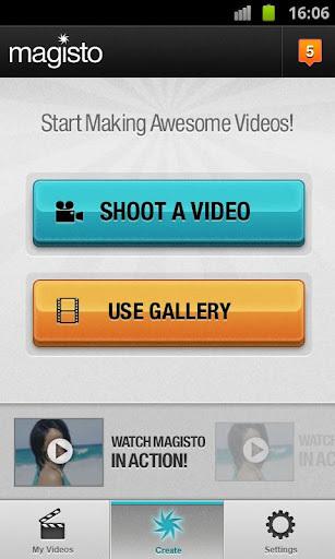 Magisto视频剪辑软件截图0