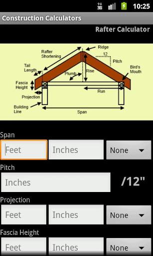 建筑计算器 Handy Construction Calculators软件截图1