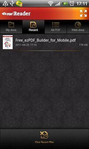 PDF阅读器ezPDF软件截图0