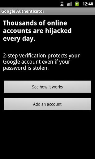 Google身份验证器 Google Authenticator软件截图2