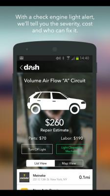 Dash智能驾驶软件截图1