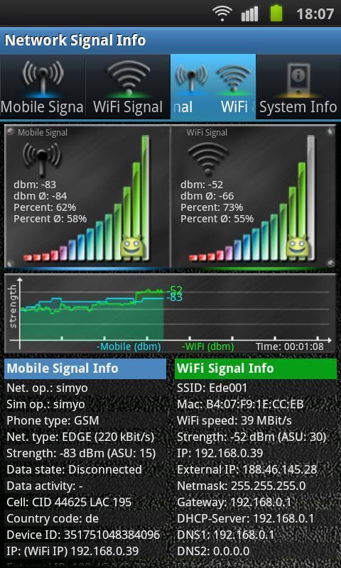 网络信号信息软件截图1