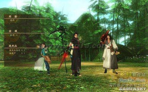 《古剑奇谭》四人参战各种合体无敌