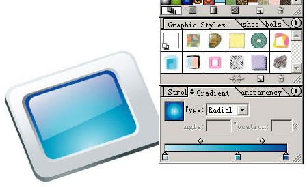 Illustrator CS设计矢量精致图标步骤详解(2)