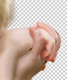 Photoshop鼠绘:哭泣的小男孩