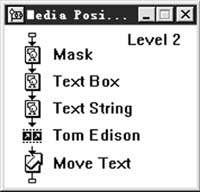 Authorware高级教程给动画增加同步字幕