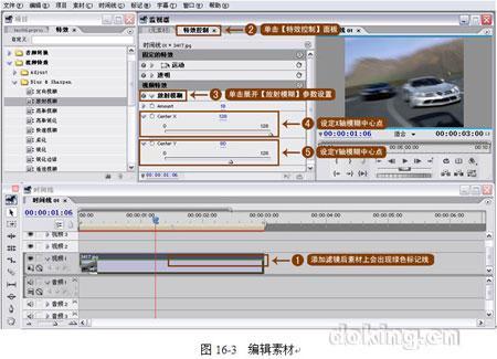 Premiere实例教程之放射模糊滤镜效果
