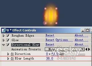 After Effects 实例教程之创建燃烧的长明灯