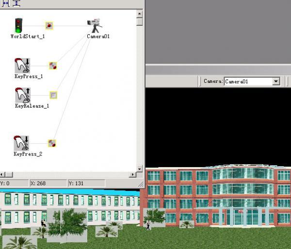 Cult3D 基础教程之自带碰撞检测设置