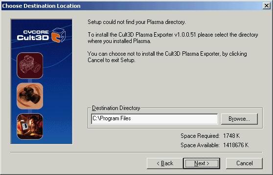 Cult3D 高级教程之plasma中Cult3D输出插件